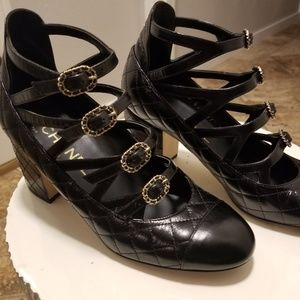 Chanel Quilted Pumps